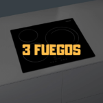 placa induccion 3 fuegos