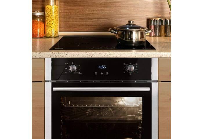 horno con placa de induccion